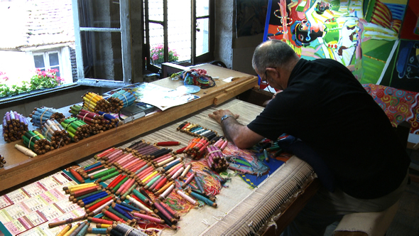Patrimoine culturel immat riel fiche for Comment enlever de la tapisserie