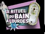 Le rituel du bain à Lourdes